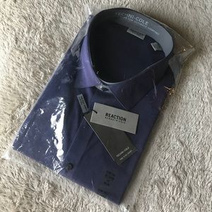 NWT Kenneth Cole Reaction Flex Dress Shirt